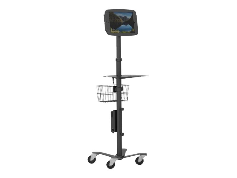 Compulocks Rolling Medical Stand With Surface Pro Tablet Enclosure - cart