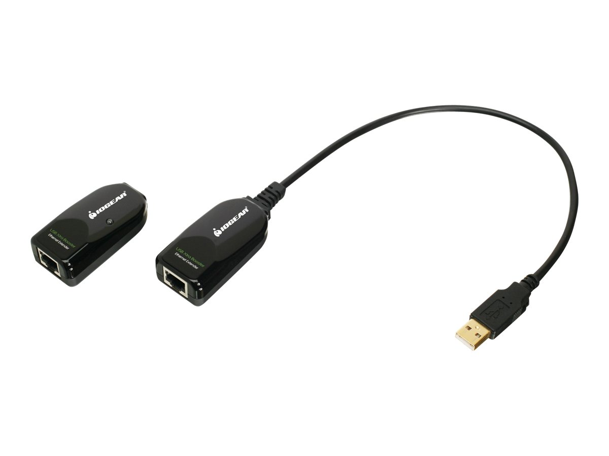 IOGEAR BoostLinq GUCE62 Set of Remote Receiver and Local Transmitter - USB extender - USB 2.0