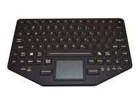 iKey BT-870-TP-SLIM Keyboard with touchpad USB, Bluetooth