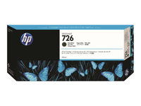 HP 726 300 ml matte black original DesignJet ink cartridge