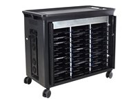 HP 30 Managed Charging Cart V2 Cart charge and management for 30 notebooks (open architecture)