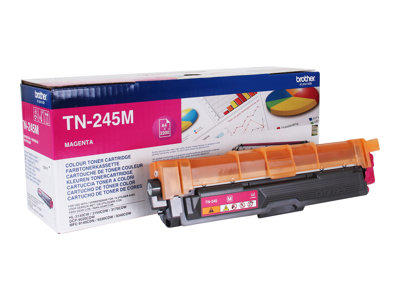 Toners Laser Brother TN245M - à rendement élevé - magenta - original - toner