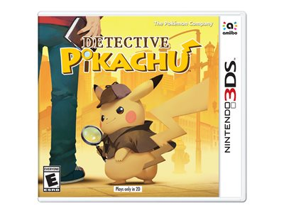 Detective Pikachu Nintendo 3DS English, French, Spanish