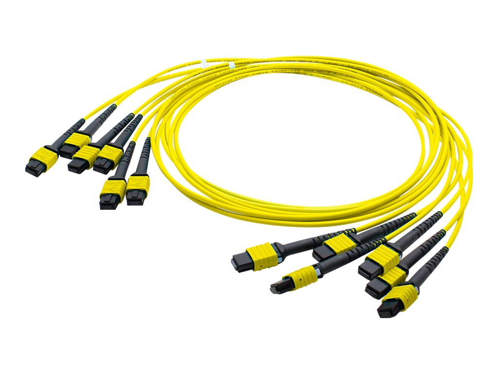 AddOn 50m MPO OS1 Yellow Trunk Cable - patch cable - 50 m - yellow