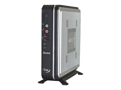 VXL Itona IQ-B64 Thin client USFF 1 x Celeron J1900 / 2 GHz RAM 2 GB flash 8 GB