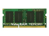 KINGSTON, ValuRam/2GB 1333MHz DDR3 NonECC CL9SODIM