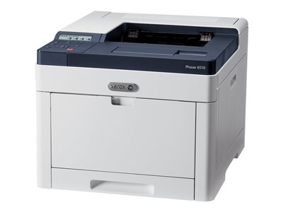 Xerox Phaser 6510DNM - Printer - color - Duplex - laser - A4/Legal - 1200 x 2400 dpi - up to 30 ppm (mono) / up to 30 ppm (color) - capacity: 300 sheets - Gigabit LAN, USB 3.0 - Metered with 1 year Xerox Total Satisfaction Guarantee