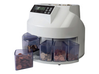 Safescan 1250 - Coin counter / sorter - GBP - grey
