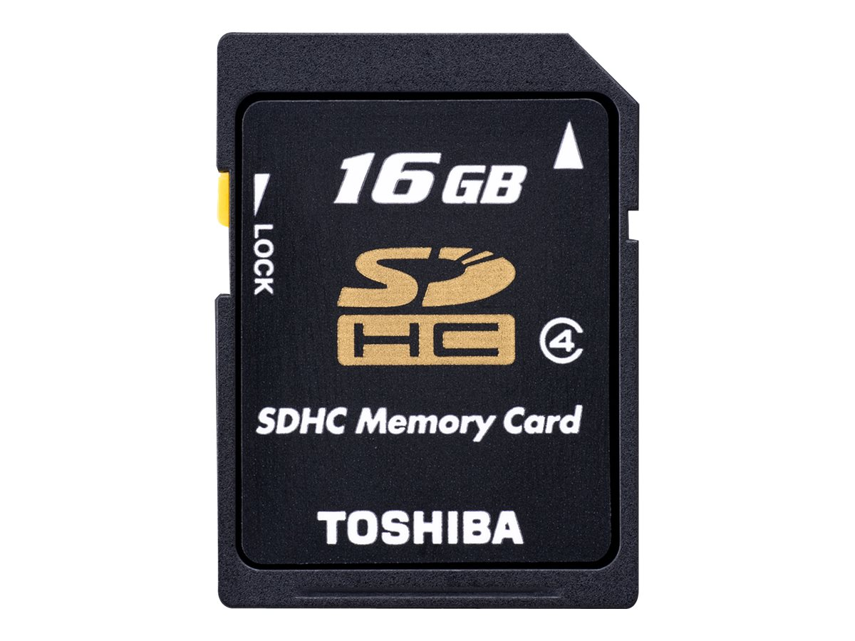 Toshiba High Speed N102 - Flash-Speicherkarte - 16 GB - Class 4 - SDHC