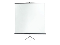 Metroplan Budget Tripod Screen - Projection screen - 1:1 - Matte White ***Delivery of this product is approx. 5 working days***