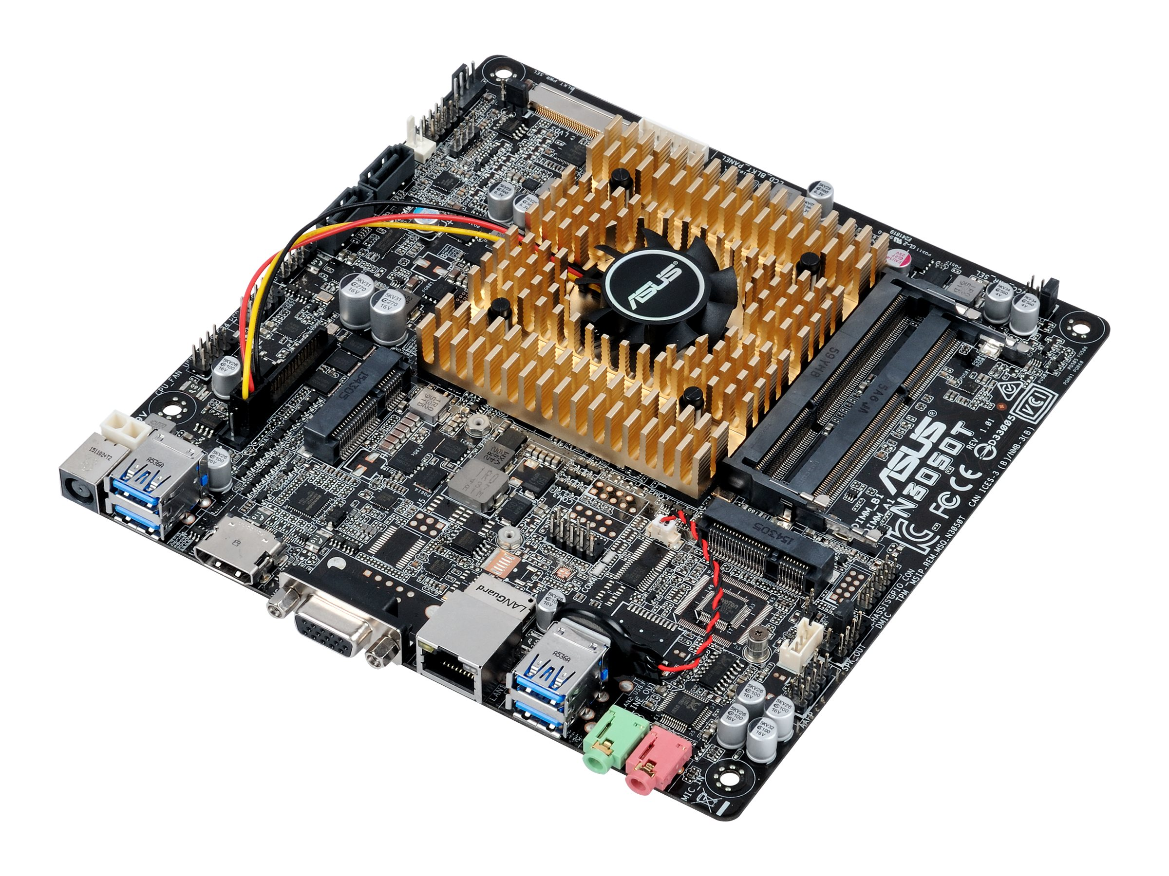 ASUS N3050T - motherboard - Thin mini ITX - Intel Celeron N3050