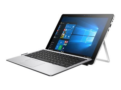"HP Elite x2 1012 G2 - Tablet - with detachable keyboard - Core i7 7600U / 2.8 GHz - Win 10 Pro 64-bit - 8 GB RAM - 256 GB SSD HP Z Turbo Drive G2, NVMe, TLC - 12.3"" IPS touchscreen 2736 x 1824 (WQXGA+) - HD Graphics 620 - Wi-Fi, Bluetooth - kbd: UK - with HP Elite x2 1012 G2 Travel Keyboard, HP Active Pen"