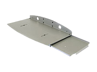 Ergotron - Keyboard drawer - grey - for Ergotron 100 Series Keyboard Pivot