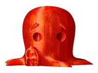 MakerBot 1 translucent orange 2 lbs PLA filament (3D)