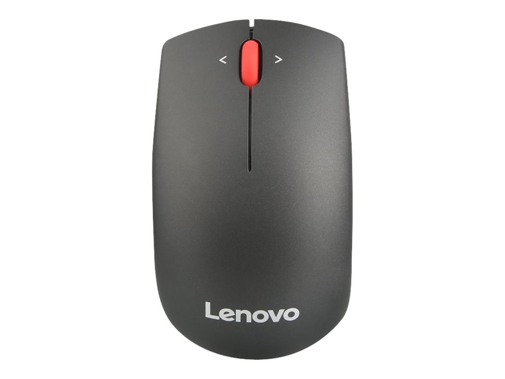 Lenovo 500 Compact Precision - mouse - 2.4 GHz - midnight black
