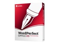 WordPerfect Office X9 Professional Edition Box pack (upgrade) 1 user (mini-box) Win
