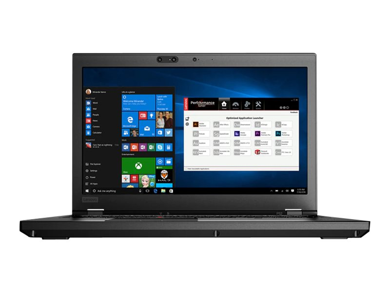 "Lenovo ThinkPad P52 - 15.6"" - Core i7 8850H - 8 GB RAM - 1 TB HDD - US"