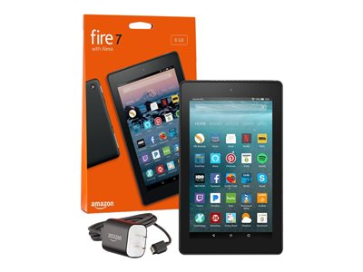 Amazon Kindle Fire 7 9th generation tablet 7INCH IPS (1024 x 600) microSD slot black