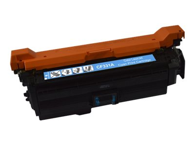 HP 654A remanufacturé - cyan - toner