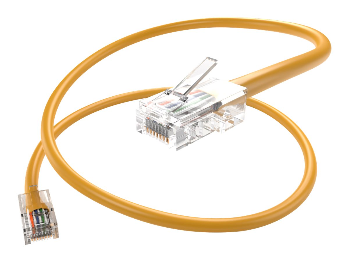 Unirise patch cable - 15.2 m - yellow