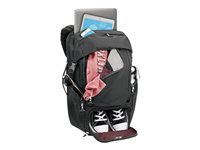 SOLO Varsity Collection Elite Notebook carrying backpack 17.3INCH black