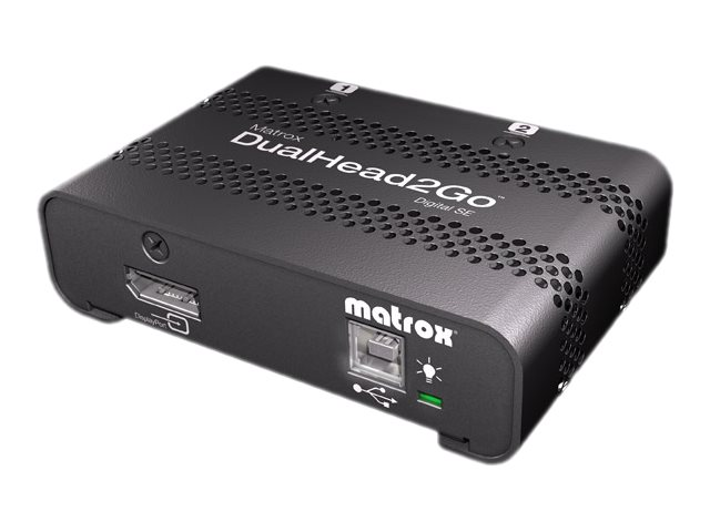 Matrox Graphics eXpansion Module DualHead2Go - Digital SE - Videokonverter - DisplayPort - DVI