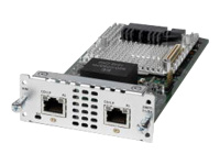 Cisco Fourth-Generation Multi-flex Trunk Voice/Clear-channel Data T1/E1 Module - Expansion module - T1/E1 x 2 - T-1/E-1 - for Cisco 4451-X; Integrated Services Router 4321, 4331, 4351, 4431