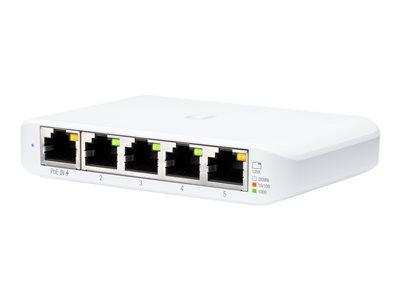 Ubiquiti UniFi Switch USW Flex Mini Switch 5-porte Gigabit  PoE+