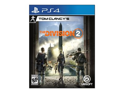 Tom ClancyFEETs The Division 2 PlayStation 4