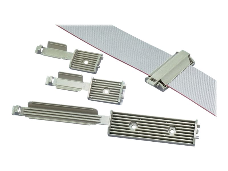 Panduit flat cable mounting system