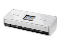 Brother ImageCenter ADS-1600W - Document scanner - Duplex - 215.9 x 863 mm - 600 dpi x 600 dpi - up to 18 ppm (mono) / up to 18 ppm (colour) - ADF (20 sheets) - up to 500 scans per day - USB 2.0, Wi-Fi(n)