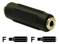 C2G 3.5mm F/F Stereo Coupler Audio coupler stereo mini jack (F) to stereo mini jack (F) -