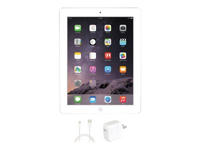Apple iPad 4 WiFi 4th generation tablet 16 GB 9.7INCH IPS (2048 x 1536) white