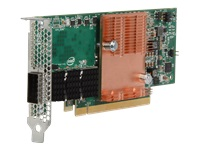 Intel Omni-Path - Network adapter - PCIe 3.0 x16 low profile - 100 Gigabit QSFP28 x 1 - for ProLiant DL360 Gen10, DL380 Gen10, DL385 Gen10, DL580 Gen9, ML350 Gen10, XL450 Gen10
