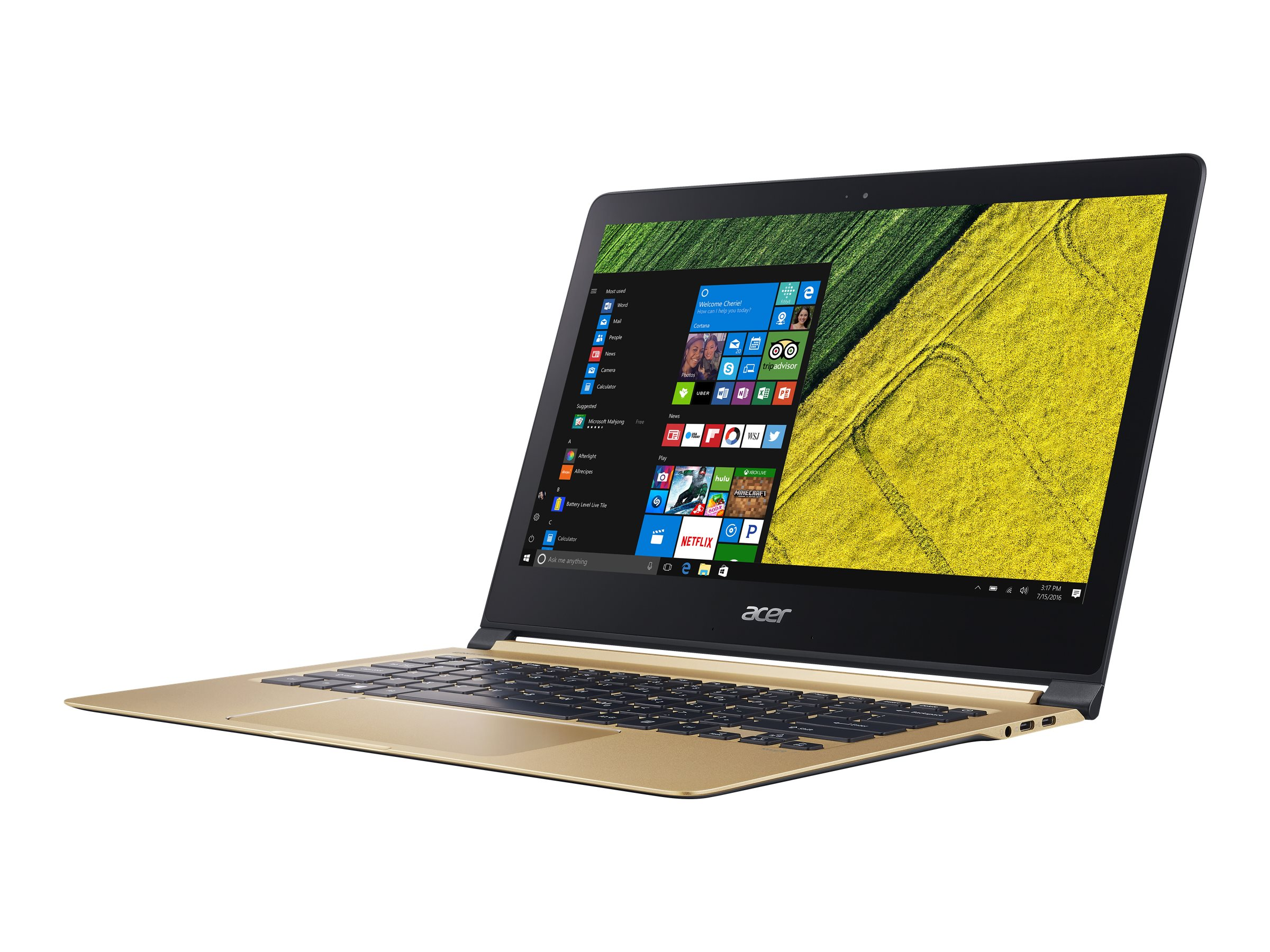 Acer Swift 7 SF713-51-M6EZ - Core i5 7Y54 / 1.2 GHz - Win 10 Pro 64-Bit - 8 GB RAM - 256 GB SSD - 33.8 cm (13.3