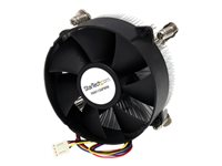 StarTech.com 95mm CPU Cooler Fan with Heatsink for Socket LGA1156/1155 with PWM - Processor cooler - (for: LGA1156, LGA1155) - aluminium - 95 mm