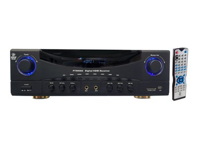PyleHome PT590AU AV receiver 5.1 channel 350 Watt (total)