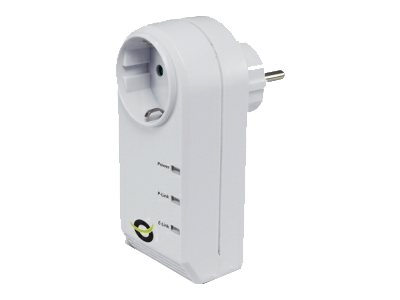 Conceptronic Powerline CPNP200IS - Bridge - HomePlug AV (HPAV) - an Wandsteckdose anschließbar
