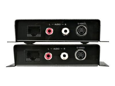 StarTech.com S-Video Video Extender over Cat 5 with Audio - video/audio extender