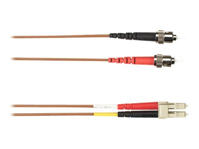 Black Box patch cable - 8 m - brown