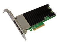 Intel Ethernet Converged Network Adapter X710-T4 Network adapter PCIe 3.0 x8 low profile