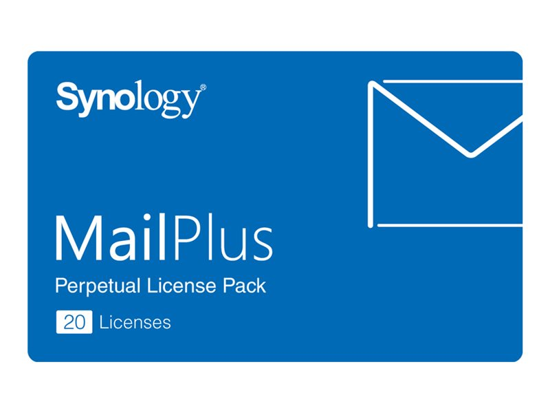 Synology MailPlus License Pack - licens - 20 e-postkonton