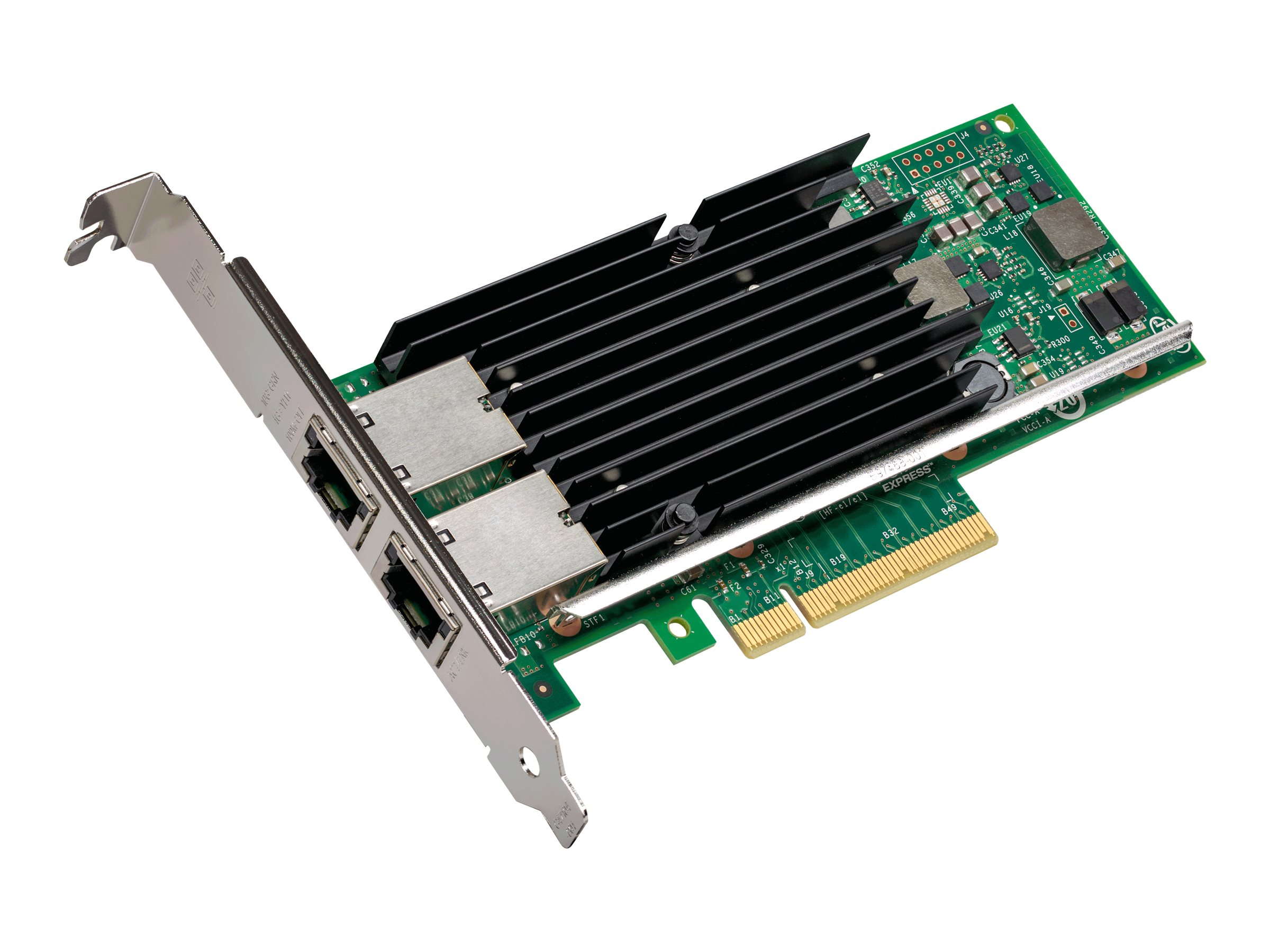 Intel Ethernet Converged Network Adapter X540-T2 - Netzwerkadapter - PCIe 2.0 x8 Low-Profile - 10Gb Ethernet x 2