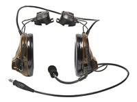 3M Peltor ComTac III MT17H682P3AD-47 CY Headset helmet mount wired noise isolating