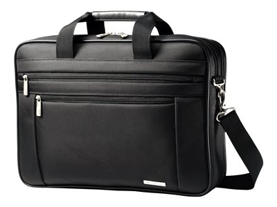Samsonite Classic Business Perfect Fit Two Gusset Laptop Bag Notebook carrying case 15.6INCH
