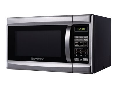 Emerson MW1338SB Microwave oven with grill freestanding 1.3 cu. ft 1000 W