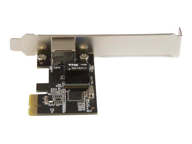 StarTech.com 1-Port Gigabit Ethernet Network Card - PCI Express, Intel I210 NIC - Single Port PCIe Network Adapter Card with Intel Chipset (ST1000SPEXI)