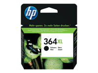 HP 364XL - High Yield - black - original - ink cartridge - for Deskjet 35XX; Photosmart 55XX, 55XX B111, 65XX, 65XX B211, 7510 C311, 7520, eStation C510
