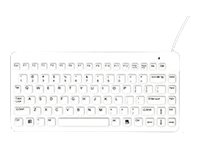 Man & Machine Slim Cool Medical Grade, Washable, Disinfectable keyboard backlit USB