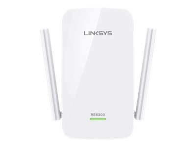 Linksys RE6300 - Wi-Fi-Range-Extender - 802.11ac - Dualband